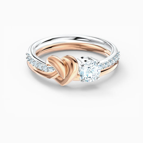 SWAROVSKI - LIFELONG HEART RING