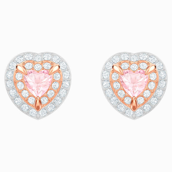 SWAROVSKI ONE STUD PIERCED EARRINGS