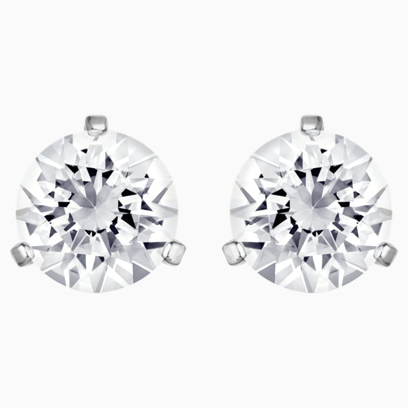 SWAROVSKI - SOLITAIRE PIERCED EARRINGS