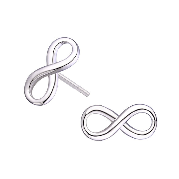Legend Sterling Silver Infinity Earrings