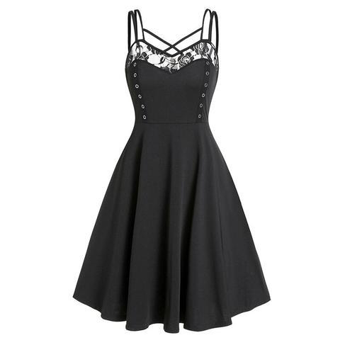A goth dress from the cradle of goth