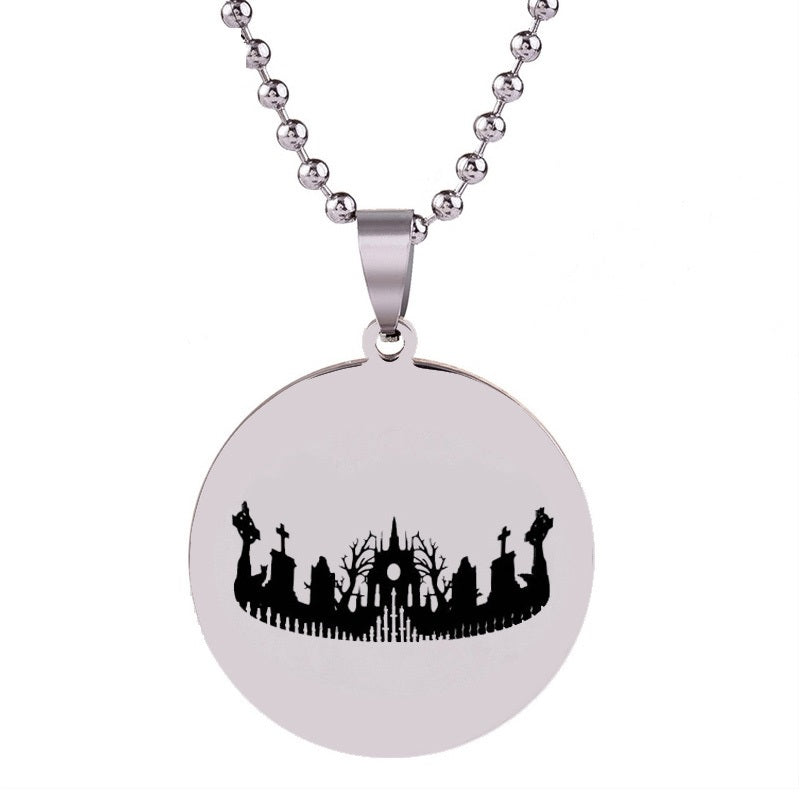Cemetery Necklace  - Cradle Of Goth