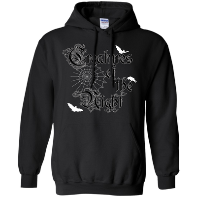 Creatures of the Night Hoodie / Black / S - Cradle Of Goth