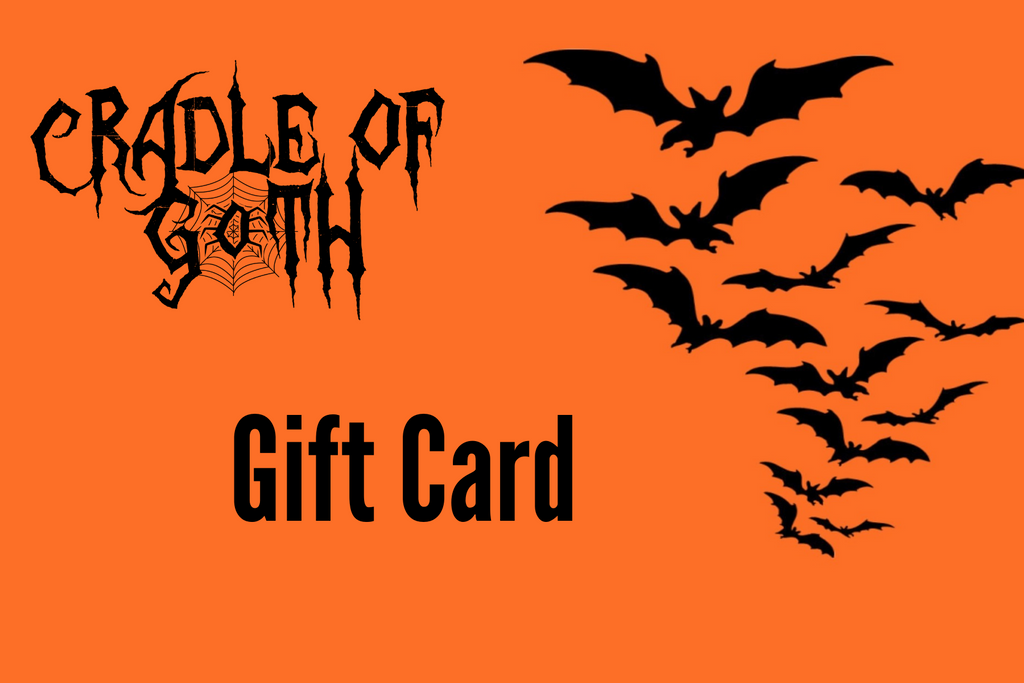 Cradle of Goth Gift Card  - Cradle Of Goth