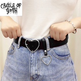 Heart-Shaped Belt  - Cradle Of Goth