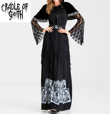 The Tarot Queen Dress  - Cradle Of Goth