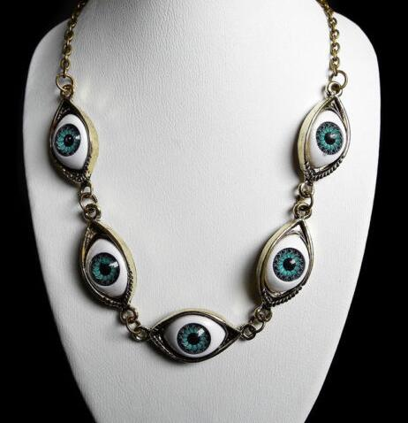 Eyes from Another Dimension Necklace  - Cradle Of Goth