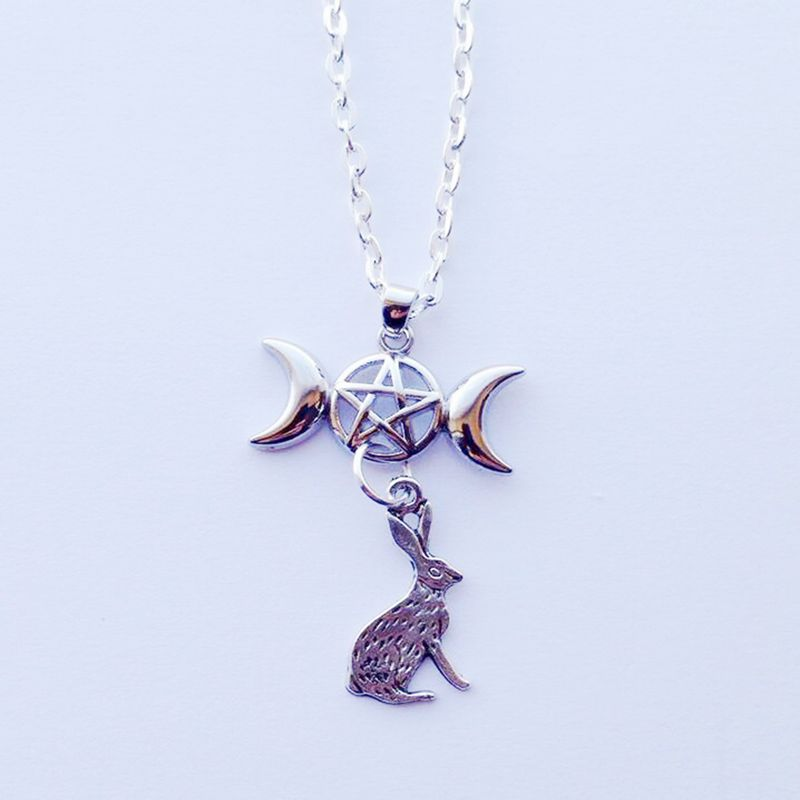 Lunar Goddess Necklace  - Cradle Of Goth