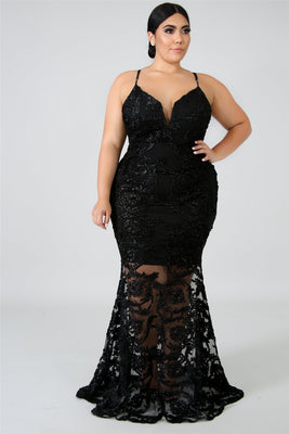 Queen of Lace Dress  - Cradle Of Goth