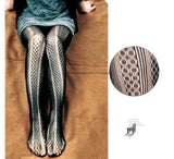 Snakeskin Tights  - Cradle Of Goth