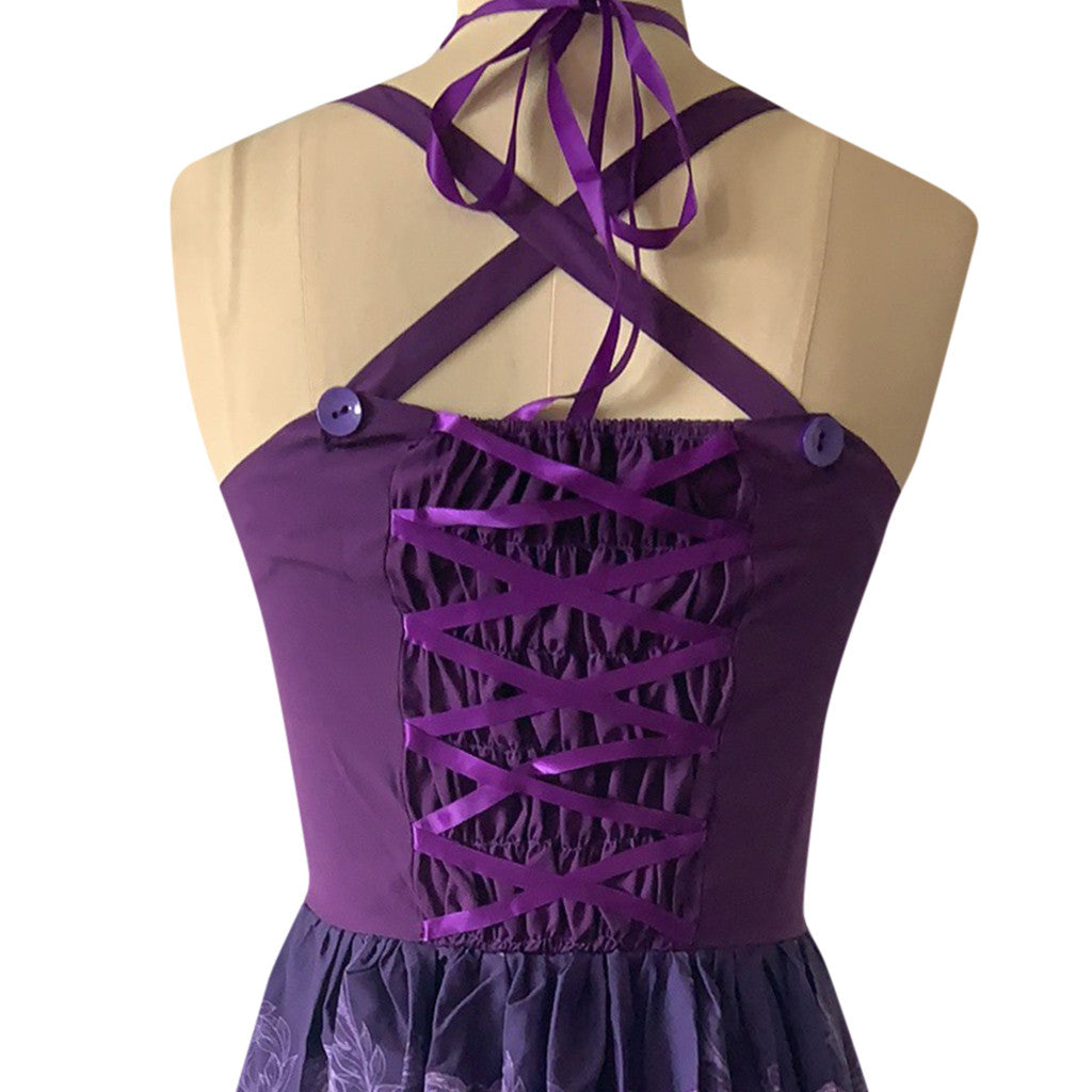 The Dance of the Dead Dress (plus sizes available)  - Cradle Of Goth
