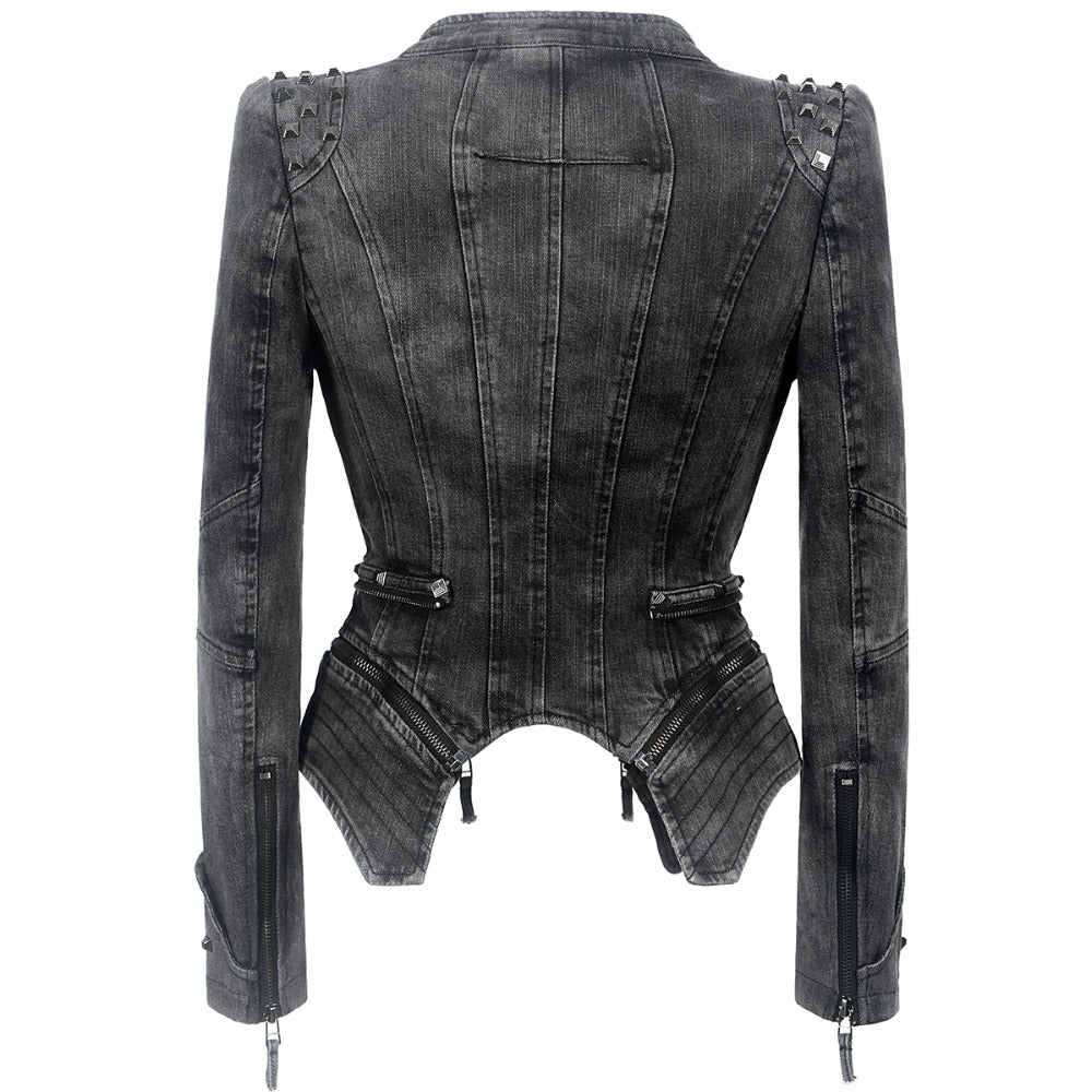 The Tough Chick Jacket (Vegan)  - Cradle Of Goth