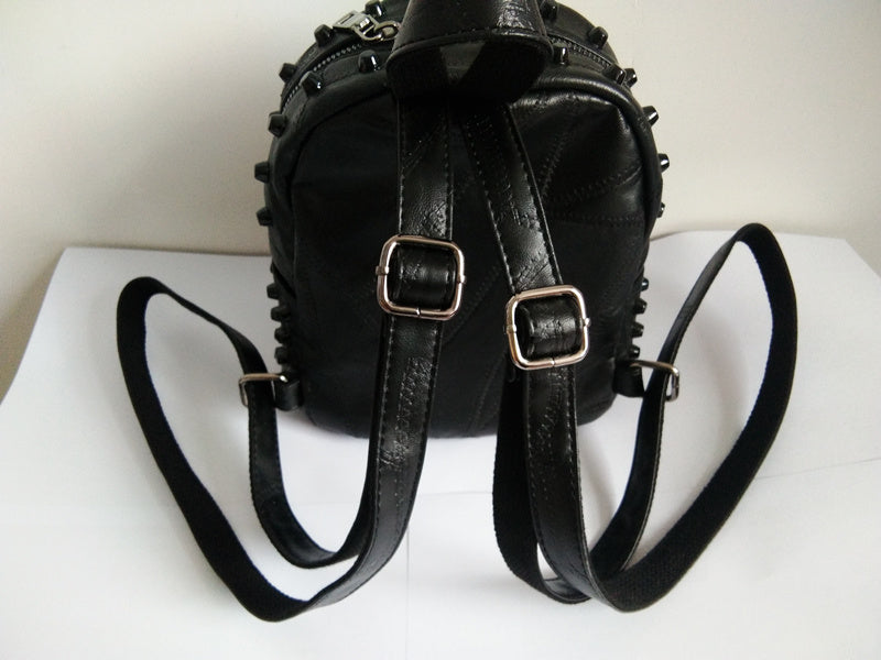 Small Demon Backpack (Vegan Leather)  - Cradle Of Goth
