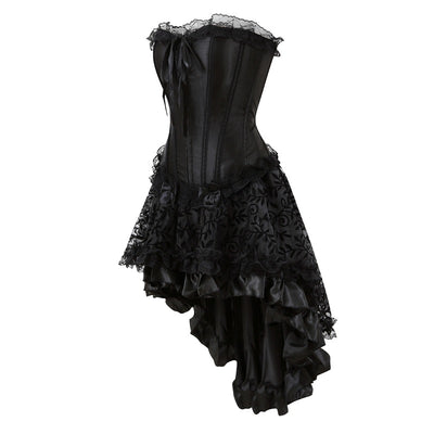 Black Rose Dress  - Cradle Of Goth
