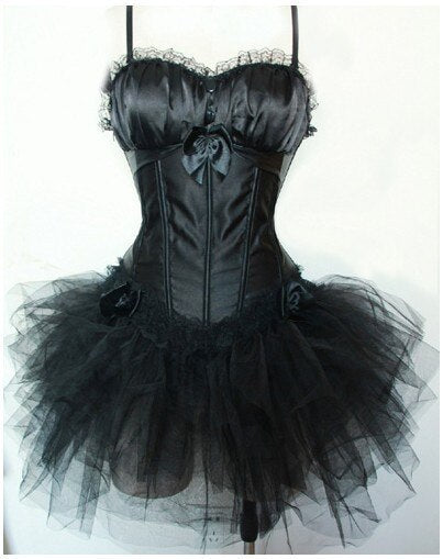 Black Swan Dress  - Cradle Of Goth