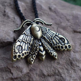 Moth Necklace 04 - Cradle Of Goth