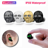 Skull Bluetooth Earphones  - Cradle Of Goth