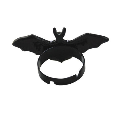 Batty Set (Necklace, ring, bracelet and earrings) bracelet - Cradle Of Goth