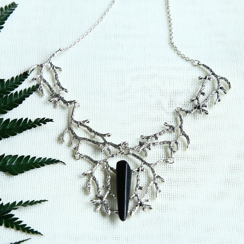 Branches of Despair Necklace  - Cradle Of Goth