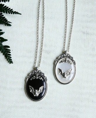 Gothic Bat Necklace  - Cradle Of Goth