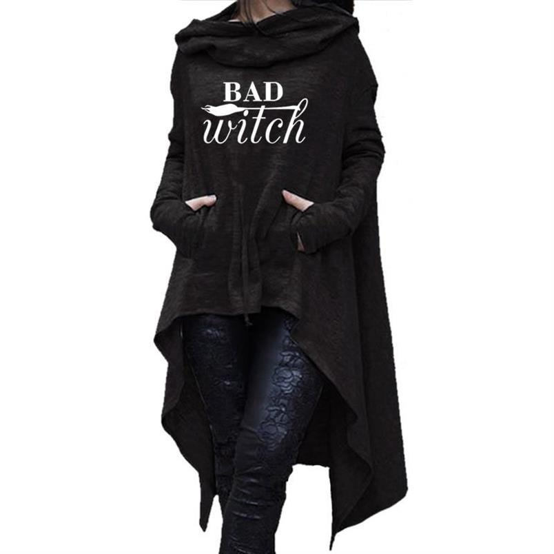 Bad Witch Hoodie (plus sizes available)  - Cradle Of Goth