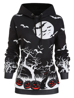 The Evil Pumpkins Hoodie  - Cradle Of Goth