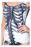 Skeleton One-piece  - Cradle Of Goth