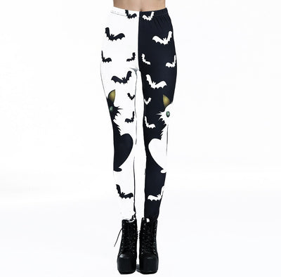 Spooky Season Leggings  - Cradle Of Goth
