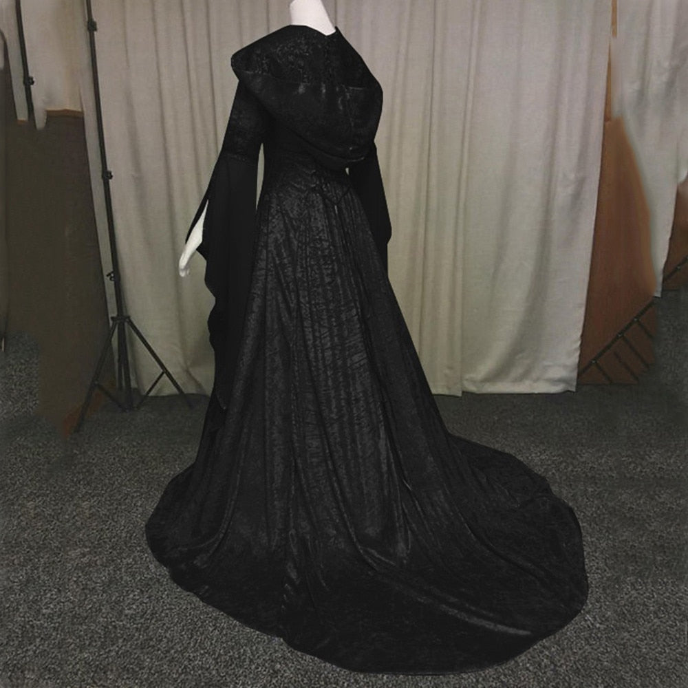 The Forest Enchantress Dress  - Cradle Of Goth
