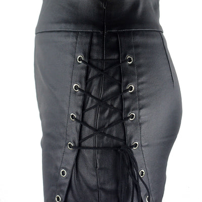 Queen of Hell Pants Black / S - Cradle Of Goth