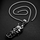 The Hungry Demon Necklace  - Cradle Of Goth