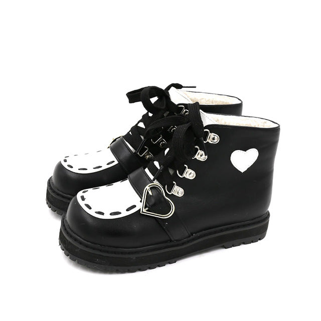 Loli Shoes Without velvet / 40 - Cradle Of Goth