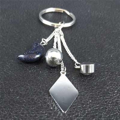 Witchy Amulet Keychain  - Cradle Of Goth