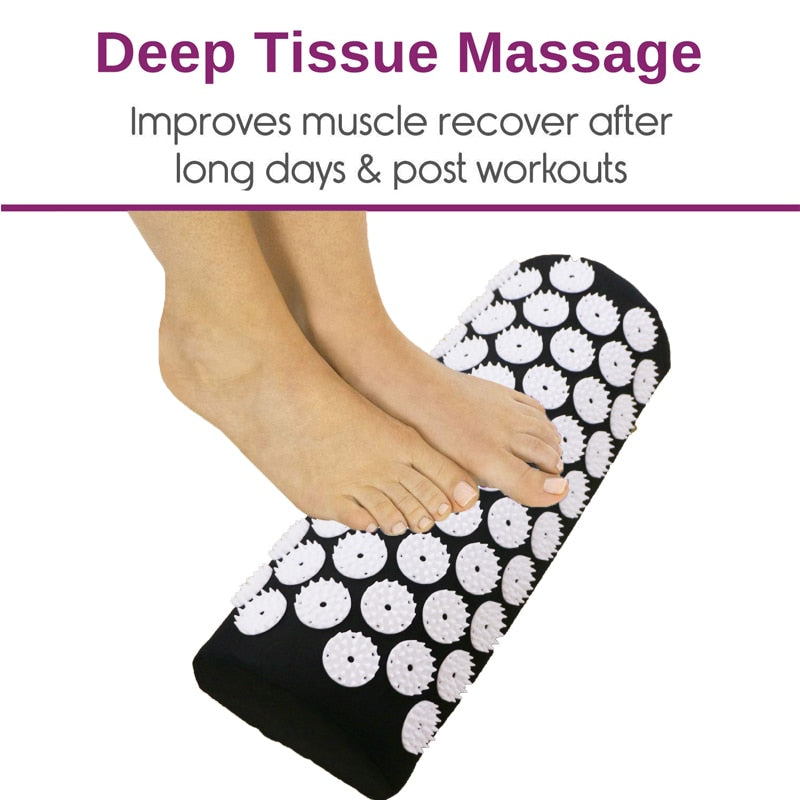 Massage Mat Set with Pillow (Acupressure)  - Cradle Of Goth