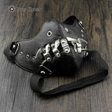 Spike Mask (Vegan Leather)  - Cradle Of Goth