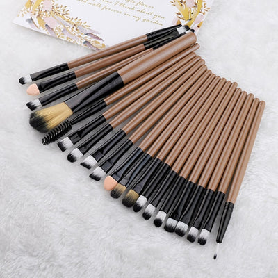 20 Piece Brushes Set Style10 - Cradle Of Goth