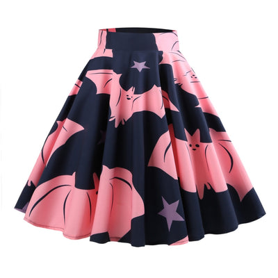 Happy Bat Skirt  - Cradle Of Goth