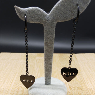 Witchy Earrings  - Cradle Of Goth