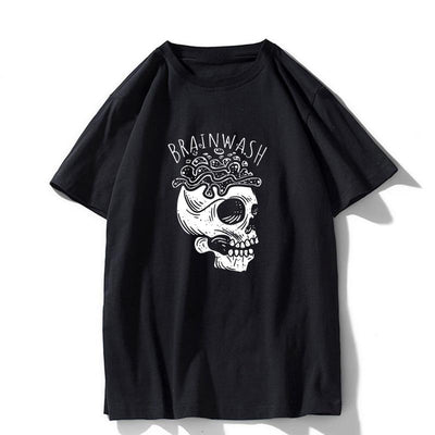 Brainwash T-shirt Zqi0421A-BLK / S - Cradle Of Goth