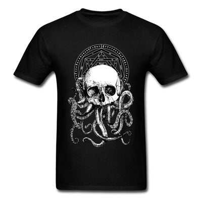 Pieces Of Cthulhu T-shirt White / XS - Cradle Of Goth