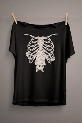 Cute Bat T-Shirt  - Cradle Of Goth
