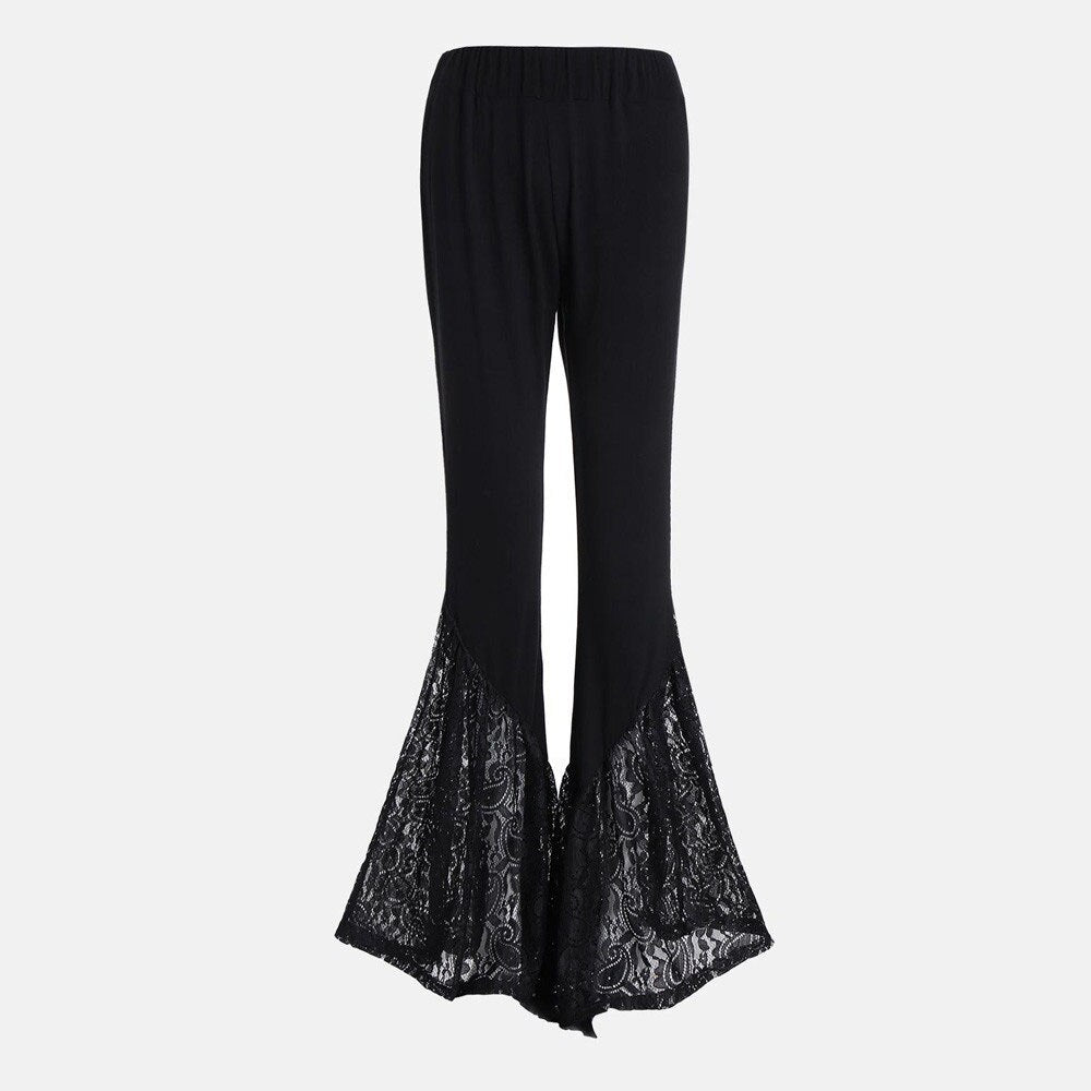 Gothic Flare Pants  - Cradle Of Goth