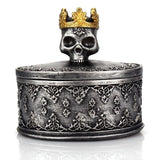 Skull Jewelry Box Black - Cradle Of Goth