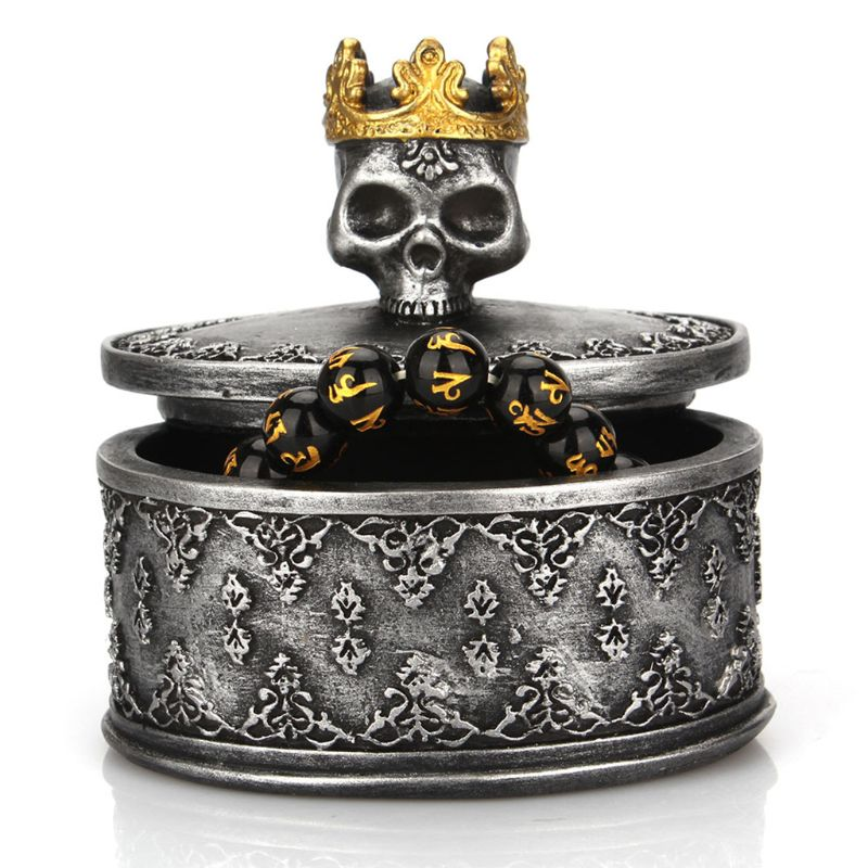 Skull Jewelry Box  - Cradle Of Goth