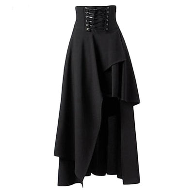 Long Goth Skirt  - Cradle Of Goth