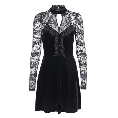 Rogue Cinderella Dress Black / M - Cradle Of Goth