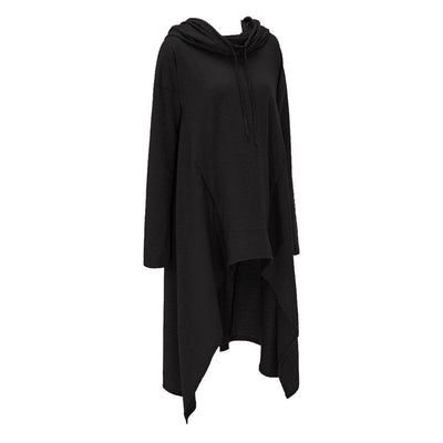 Oversized Goth Hoodie (plus sizes available) Black / 4XL - Cradle Of Goth