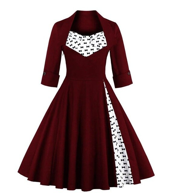 Pinup Goth Dress (plus sizes available) 4 / M - Cradle Of Goth
