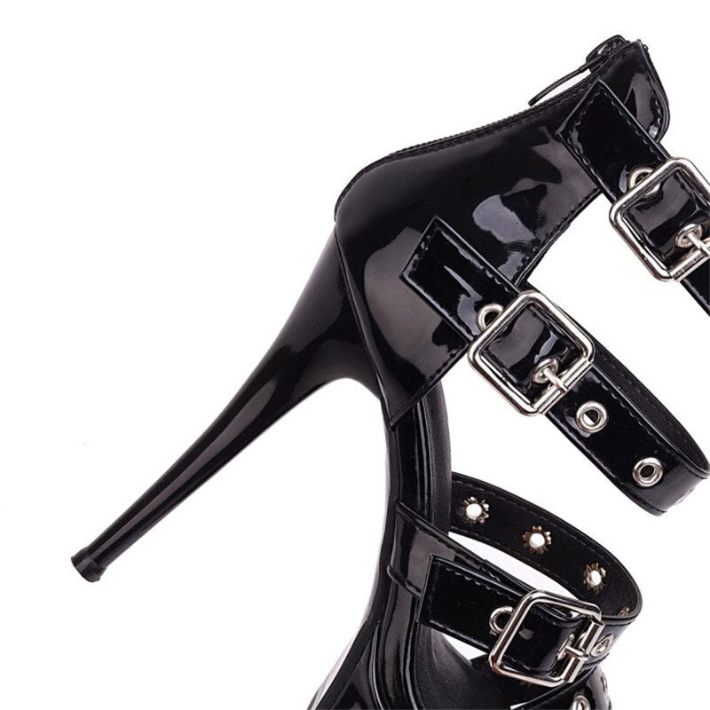 Don't Mess with Me Heels  - Cradle Of Goth