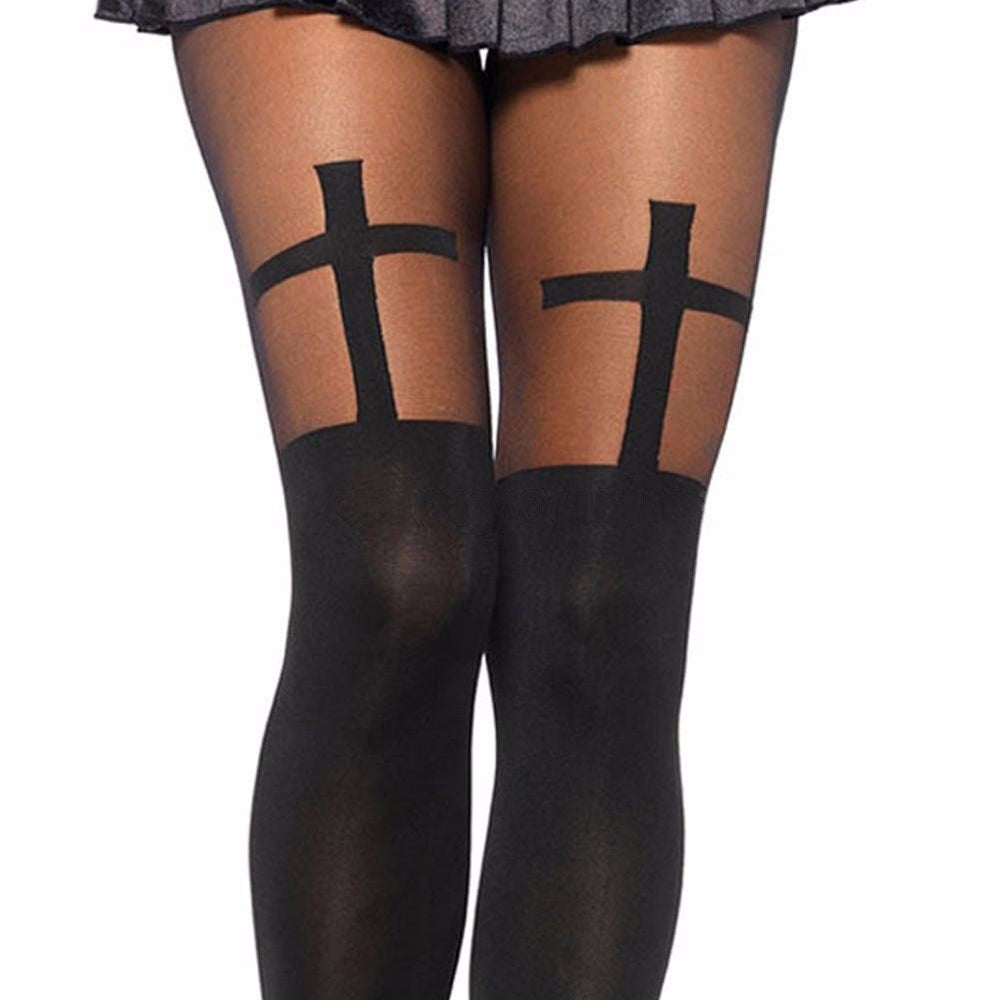 Cross Tights  - Cradle Of Goth
